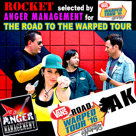 ROCKET -w- ROAD TO VANS WARPED TOUR